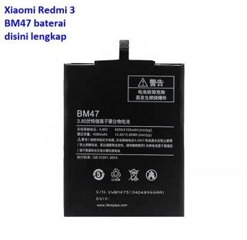 Jual Baterai Xiaomi Redmi 3 BM47