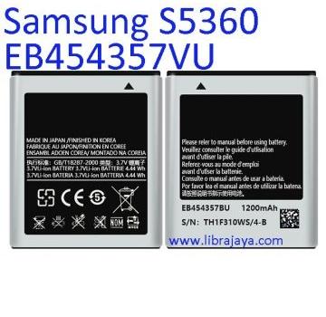 Jual Batre Samsung S5360 EB454357VU