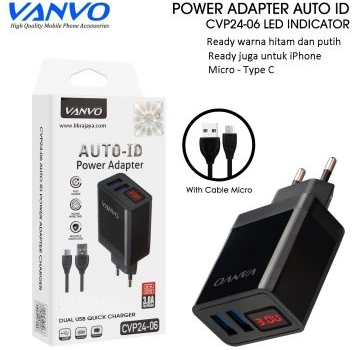 charger micro cvp24-06 2usb