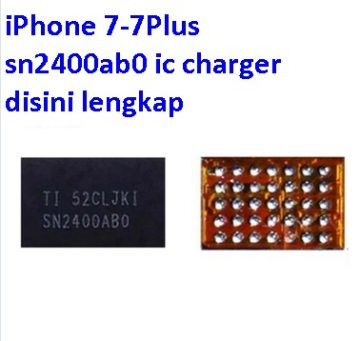 Jual IC charger SN2400AB0 For iPhone 7