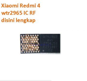 Jual ic rf wtr2965 Redmi 4