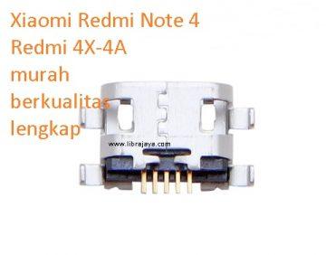 Konektor charger Xiaomi Redmi note 4 murah