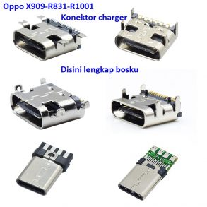 konektor-charger-oppo-x909-r831-r1001