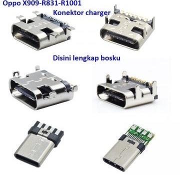 Jual Konektor charger Oppo X909