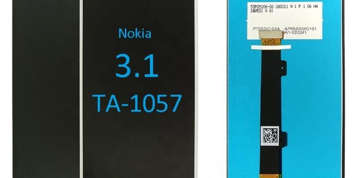Jual Lcd Nokia 3.1 murah
