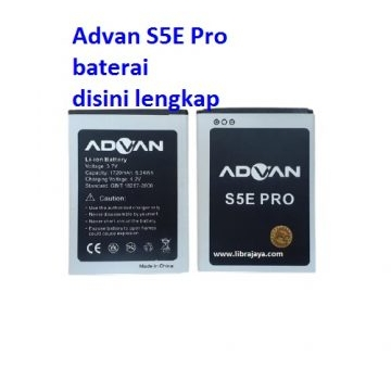 Jual Baterai Advan S5E Pro