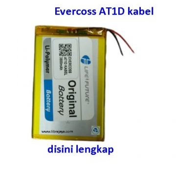 Jual Baterai Evercoss AT1D kabel