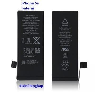 Jual Baterai iPhone 5s