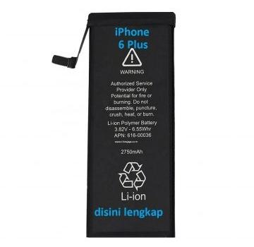 Jual Baterai iPhone 6 Plus