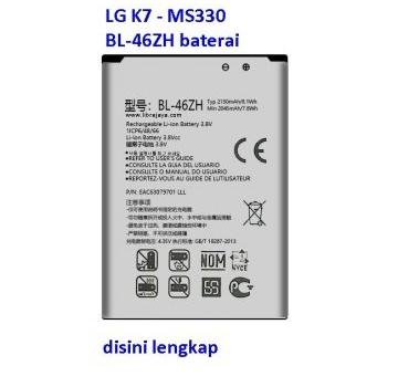 Jual Baterai LG K7 BL-46ZH