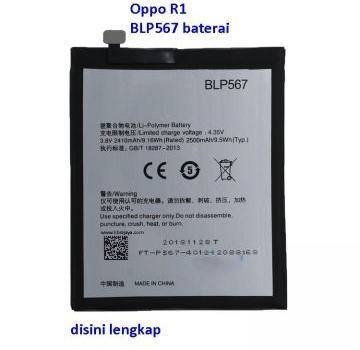 Jual Baterai Oppo R1 BLP567