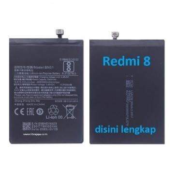 Jual Baterai Redmi 8 BN51