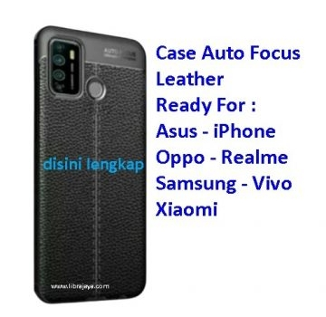 Jual Case Auto Focus Leather Realme C11