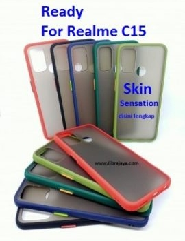 Jual Case skin sensation Realme c15