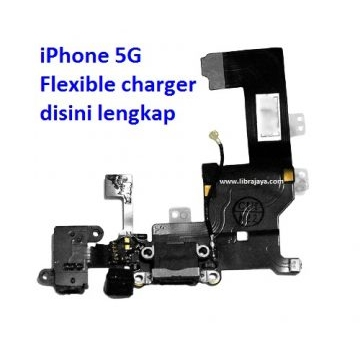 Jual Flexible charger iPhone 5G