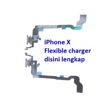 Jual Flexible charger iPhone X