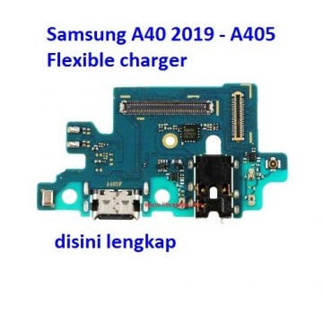 Jual Flexible charger Samsung A40 2019