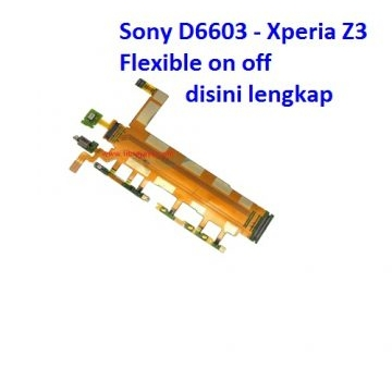 Jual Flexible on off Xperia Z3