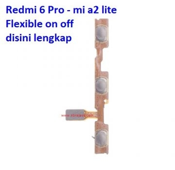 Jual Flexible on off Redmi 6 Pro