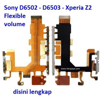 Jual Flexible volume Xperia Z2