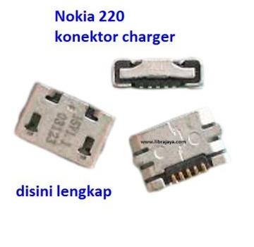 Jual Konektor charger Nokia 220