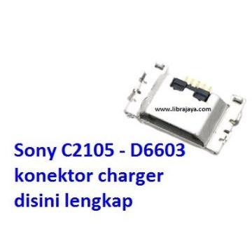 Jual Konektor charger Sony C2105