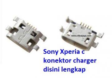 Jual Konektor charger Xperia c