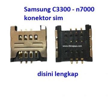 Jual Konektor sim Samsung C3300