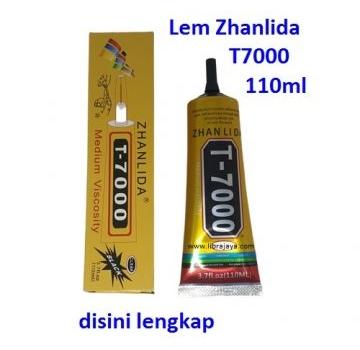 Jual Lem Zhanlida T7000 hitam 110ml