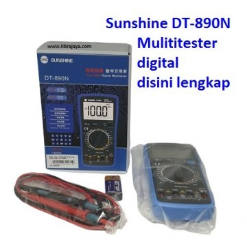 Jual Multitester digital sunshine DT-980N