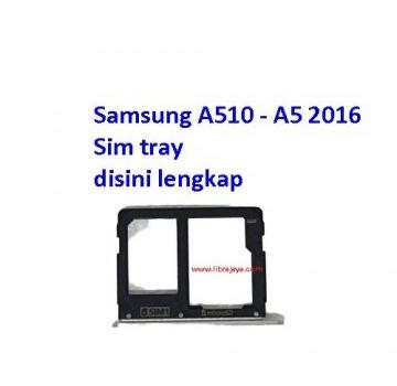 Jual Sim tray Samsung A5 2016 dual sim