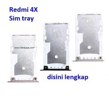 Jual Sim tray Redmi 4x
