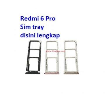 Jual Sim tray Redmi 6 Pro