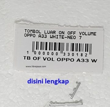 Jual Tombol luar on off Oppo A33