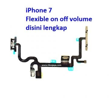 Jual Flexible on off volume iPhone 7