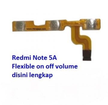 Jual Flexible on off volume Redmi Note 5a