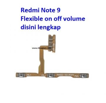Jual Flexible on off volume Redmi Note 9
