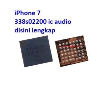 Jual IC Audio 338S00220 iPhone 7