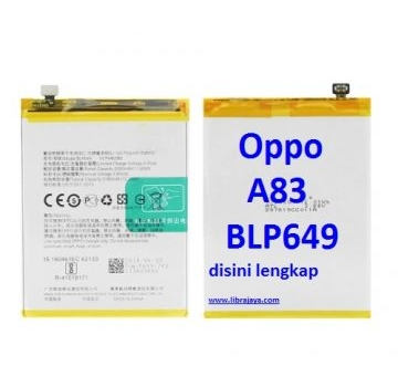 Jual Baterai Oppo A83 BLP649