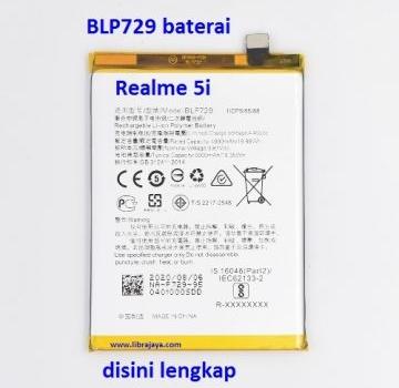 Jual Baterai Realme 5 BLP729