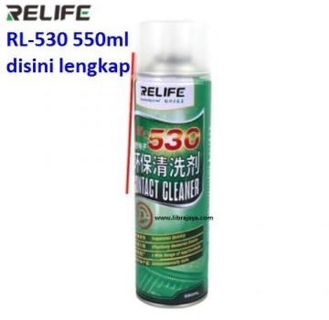 Jual Cairan pembersih lem Relife RL530