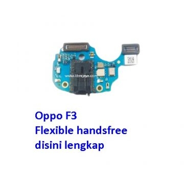 Jual Flexible handsfree Oppo F3