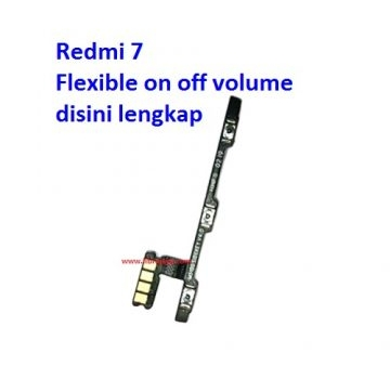 Jual Flexible on off volume Redmi 7