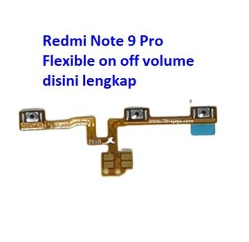Jual Flexible on off volume Redmi Note 9 Pro