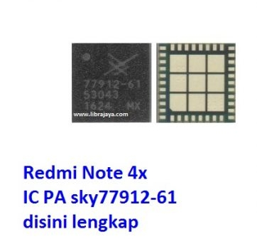 Jual Ic Pa Redmi Note 4X SKY77912-61