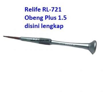 Jual Obeng Plus 1.5 Relife RL-721