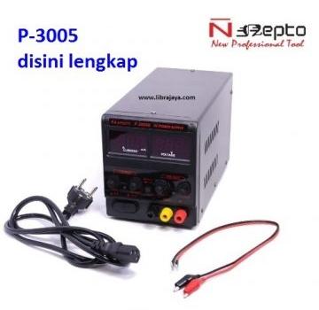 Jual Power supply Nepto P-3005 black ori