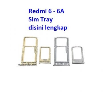 Jual Sim tray Redmi 6 dual sim