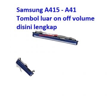 Jual Tombol luar on off volume Samsung A41