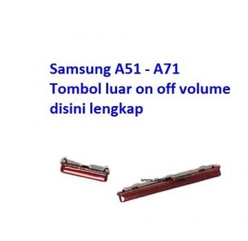 Jual Tombol luar on off volume Samsung A51